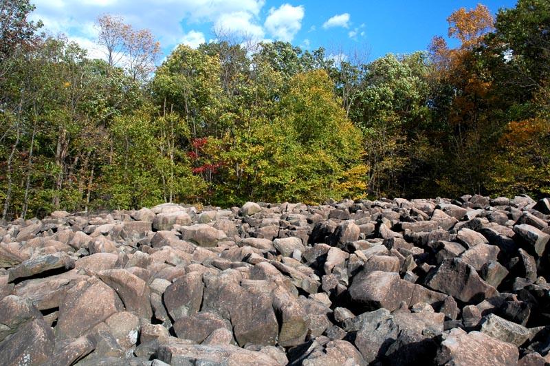 Ringing Rock Park In Pennsylvania