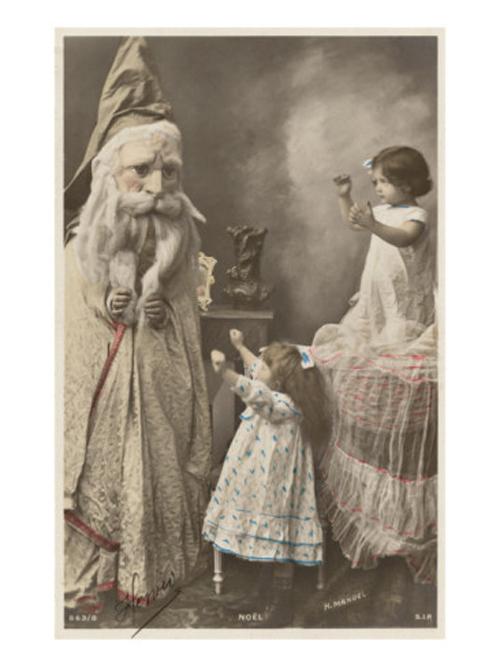 16 Creepy Vintage Santas | weirdtwist