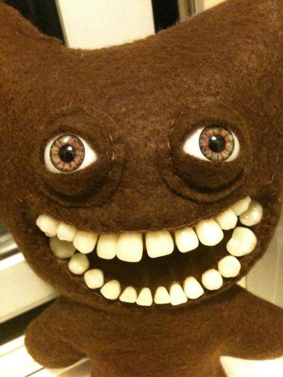 Frightful Stuffed Animals With Human Teeth Weirdtwist