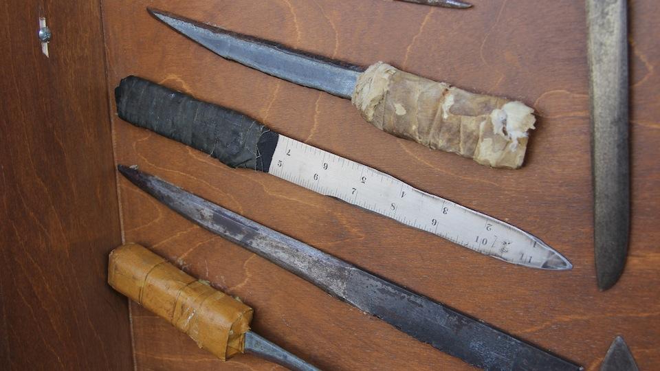 Как сделать нож заточку